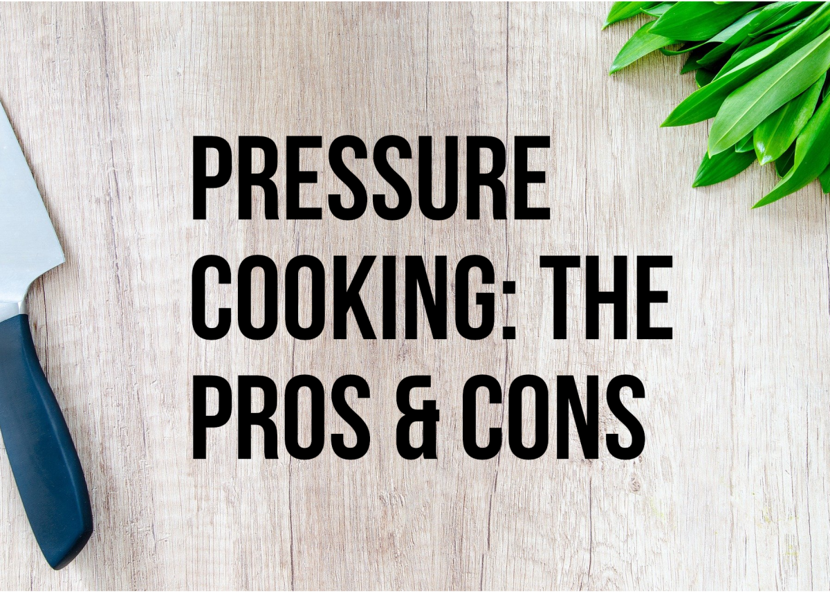 This article examines the advantages and disadvantages associated with cooking food with pressure cookers.
