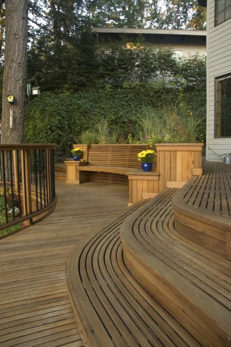 The boards, railings and the gorgeous decks.