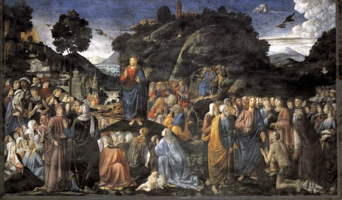 The Sermon on the Mount, Cosimo Rosselli (1439-1507)