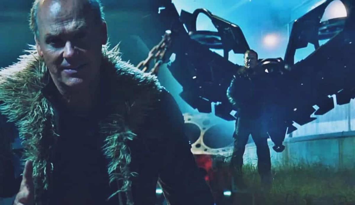 Michael Keaton as Adrian Toomes/The Vulture.