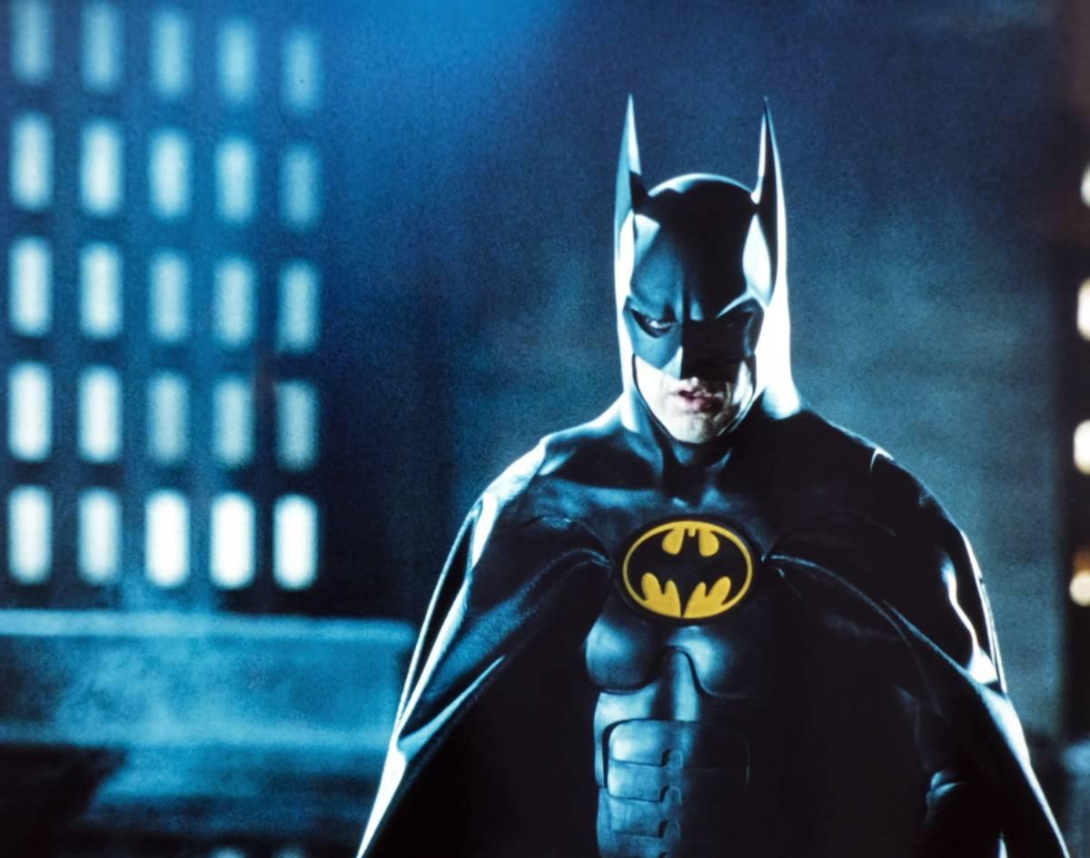 Michael Keaton as Bruce Wayne/Batman.