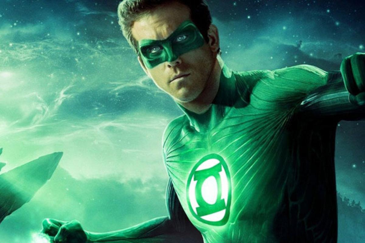 Ryan Reynolds as Hal Jordan/Green Lantern.