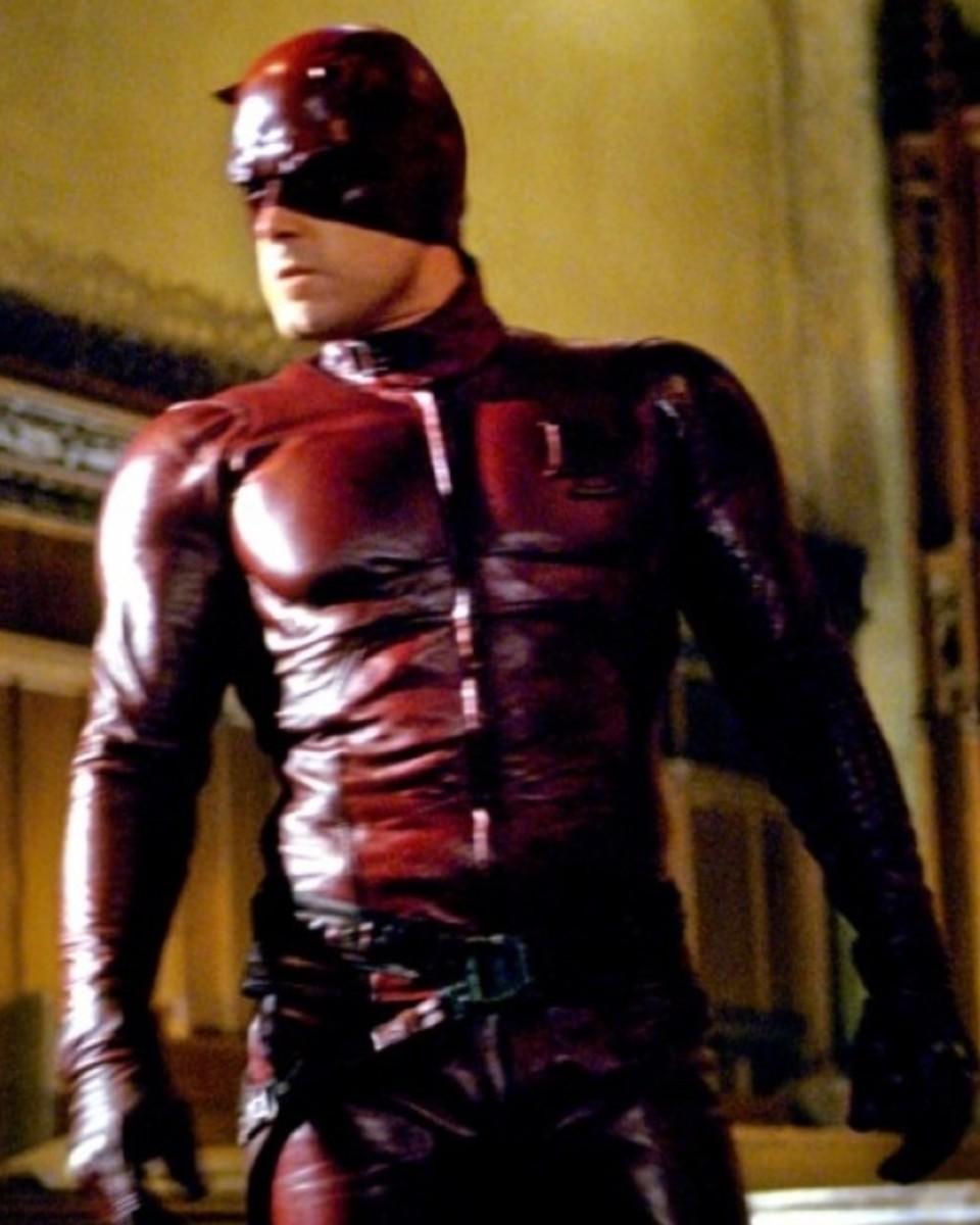Ben Affleck as Matt Murdock/Daredevil.