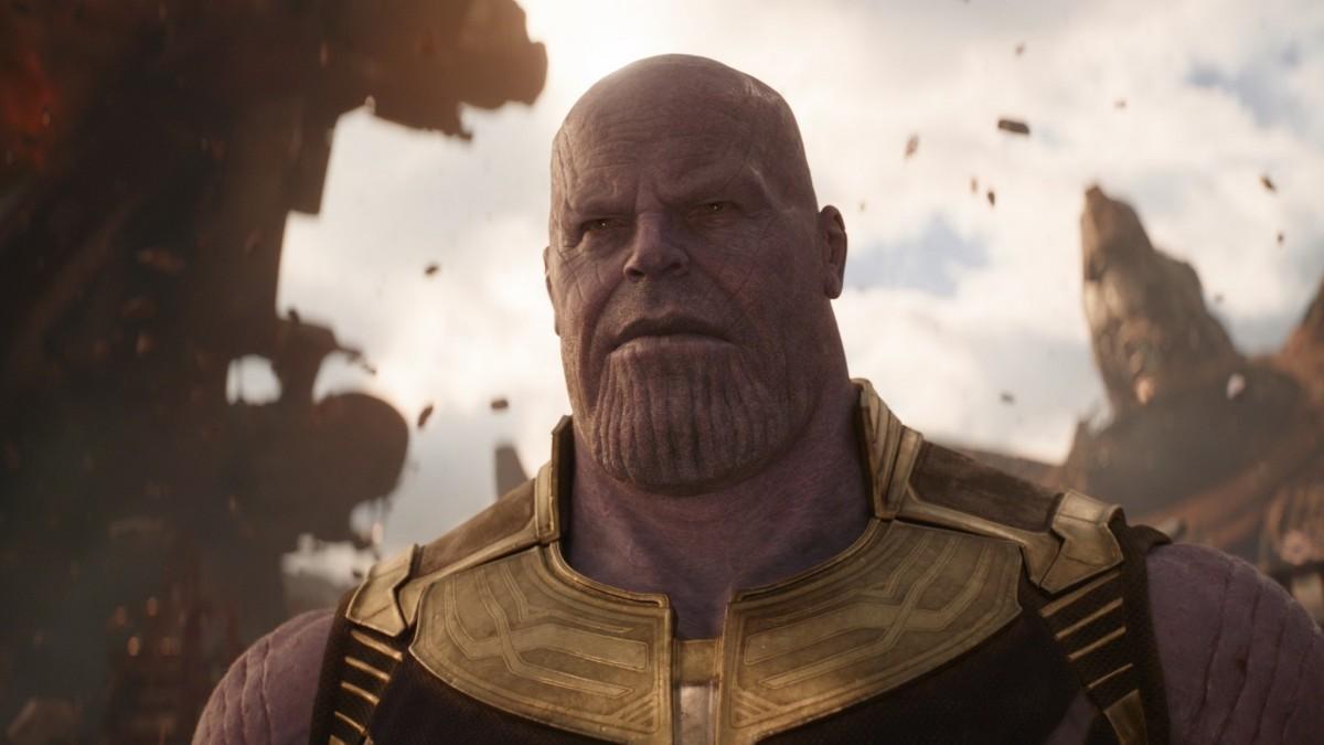 Josh Brolin as Thanos.