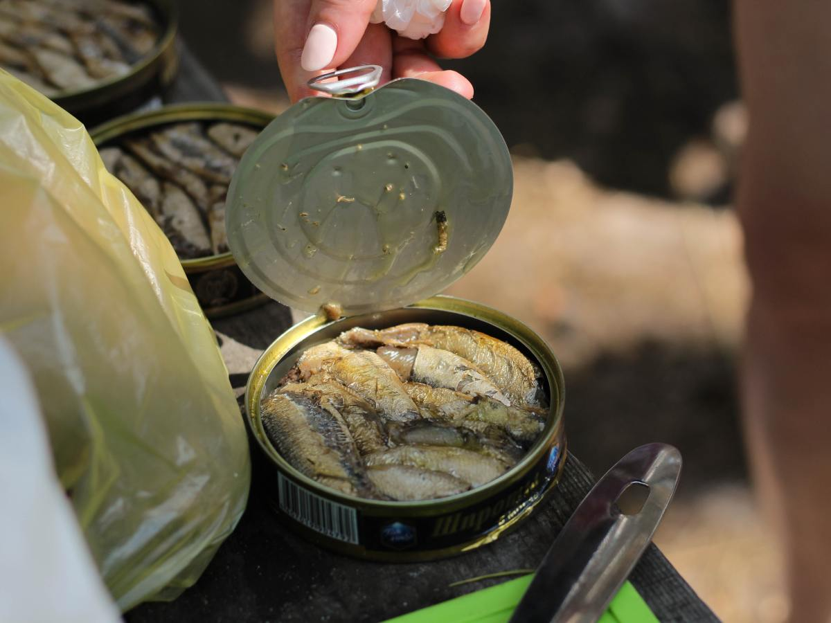 Once you open a dented can, inspect the food to make sure it looks and smells as you would expect.