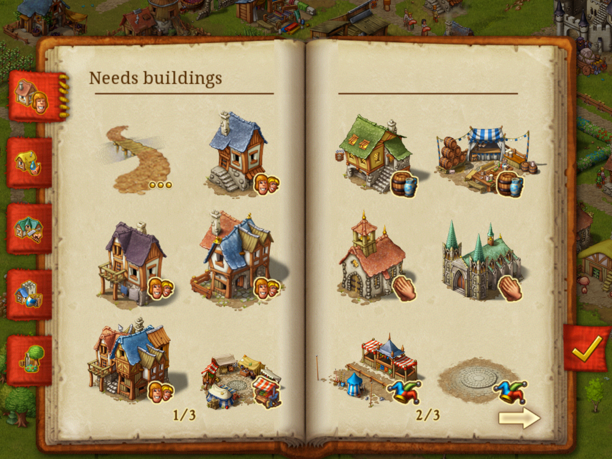 Loads of buildings to build