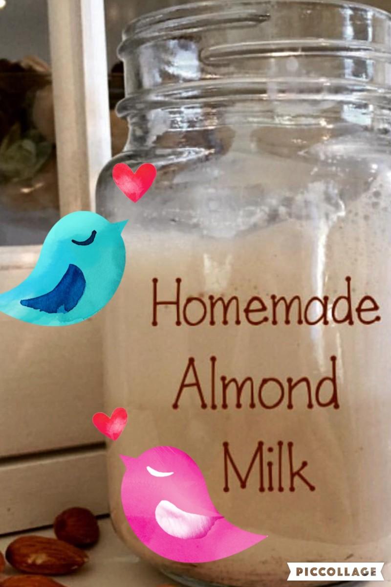 Best Homemade Almond Milk Recipe