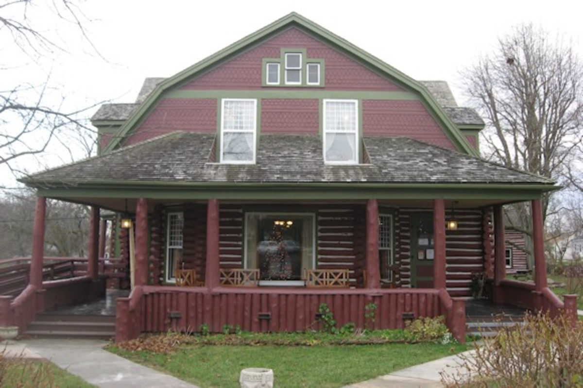 Limberlost was the home of author & naturalist Gene Stratton-Porter