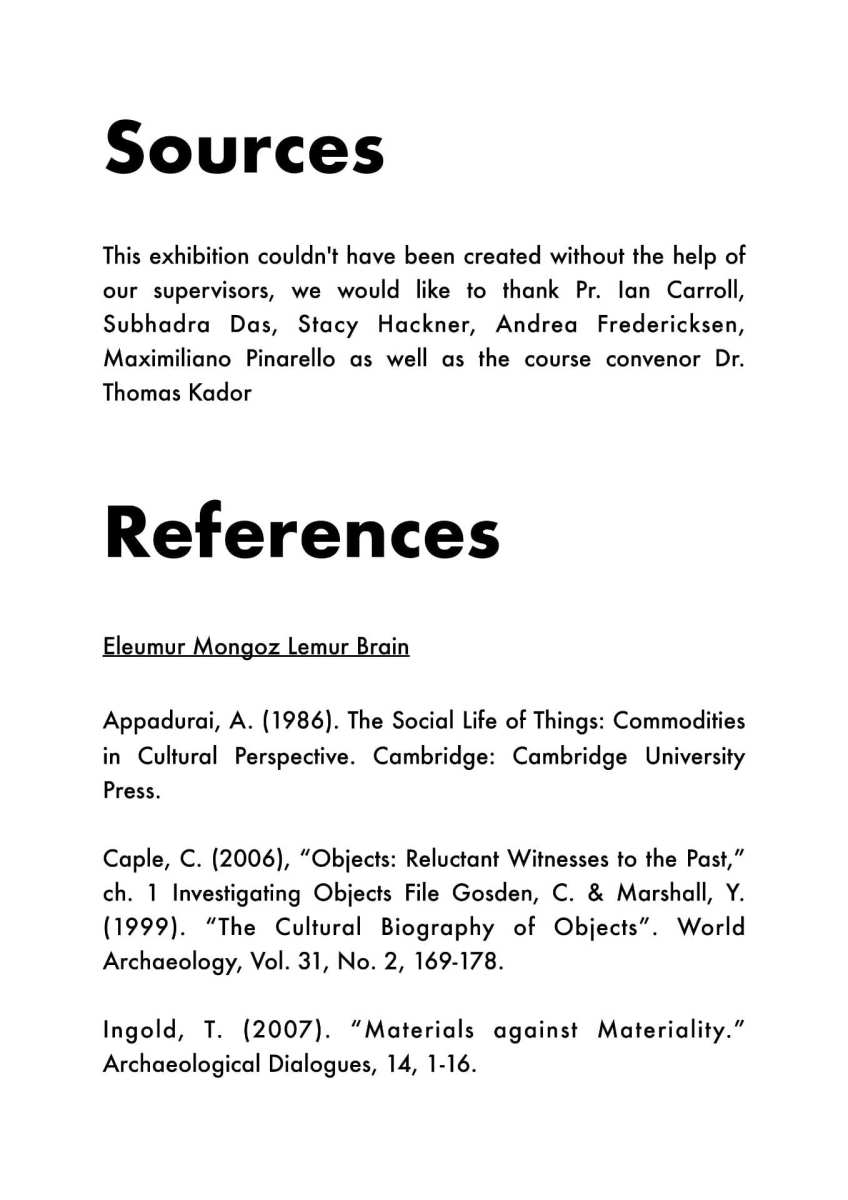 Acknowledgments and References Are Important