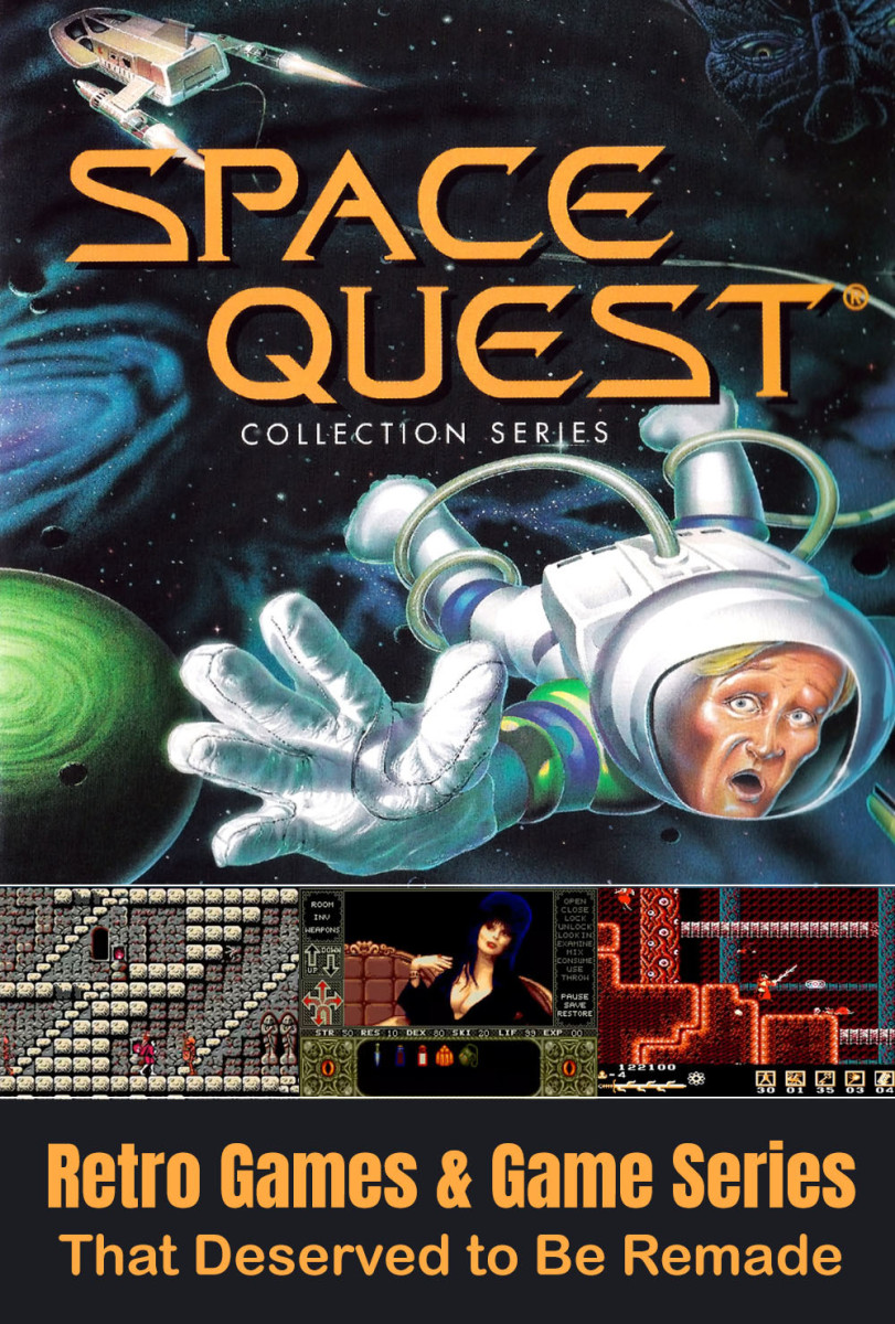 10 Retro Games & Game Series That Should Be Remade