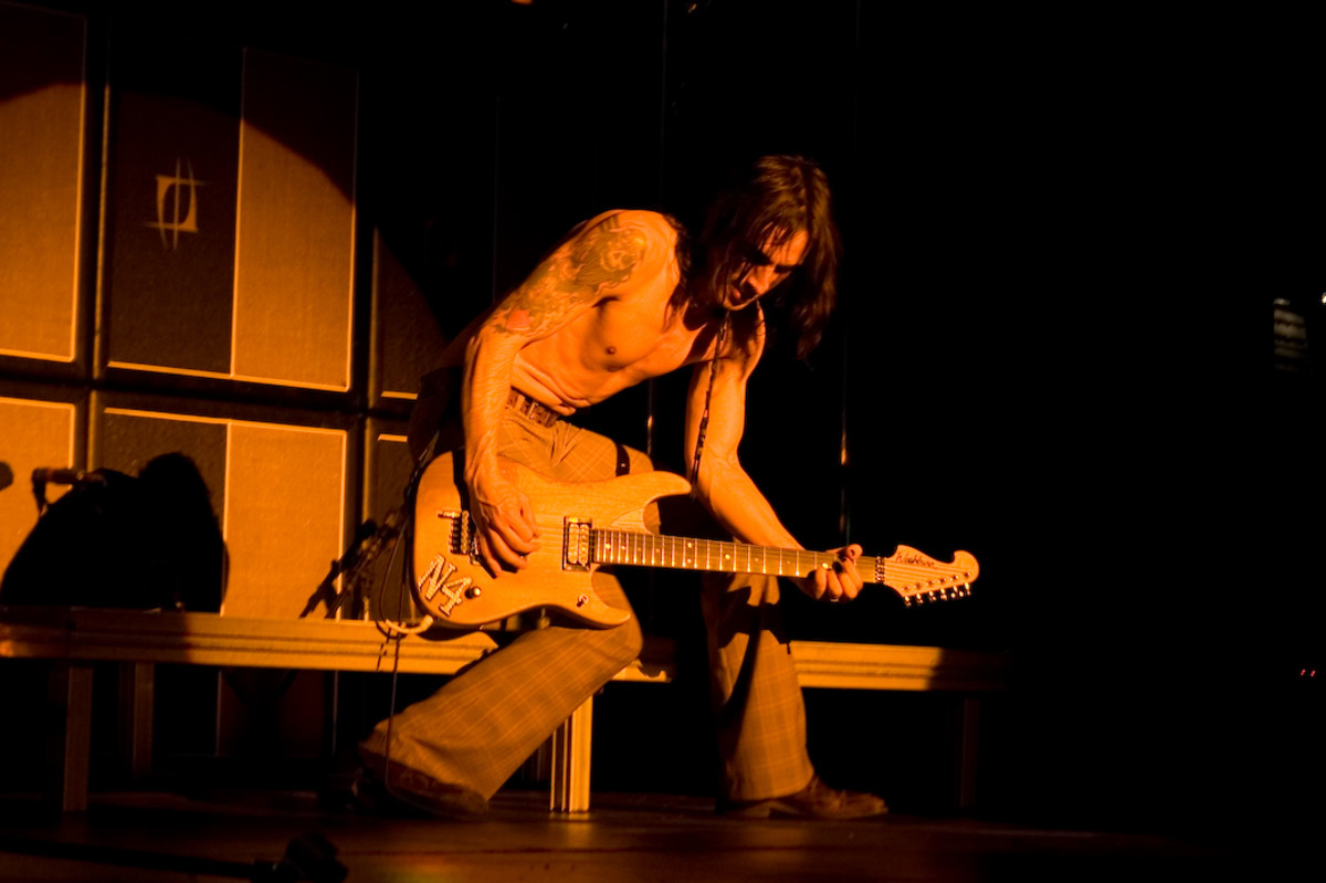 Nuno Bettencourt of Extreme is an amazing guitarist who emerged during the '80s glam era.