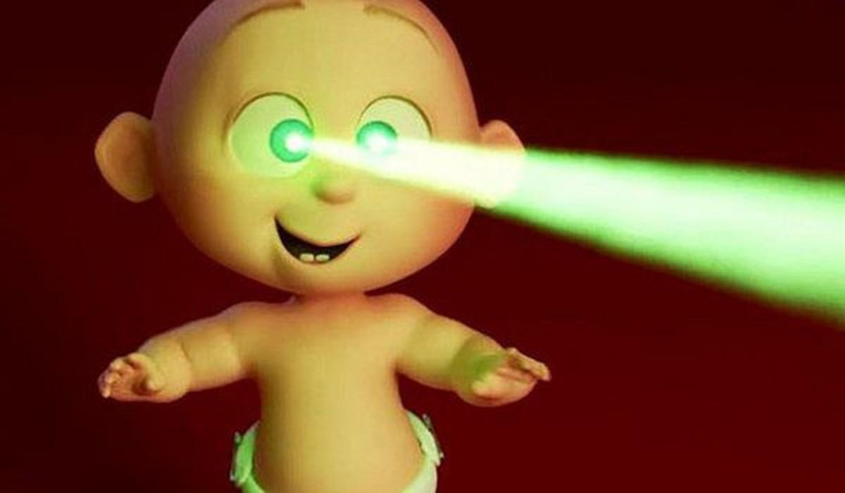 Jack-Jack's laser eyes