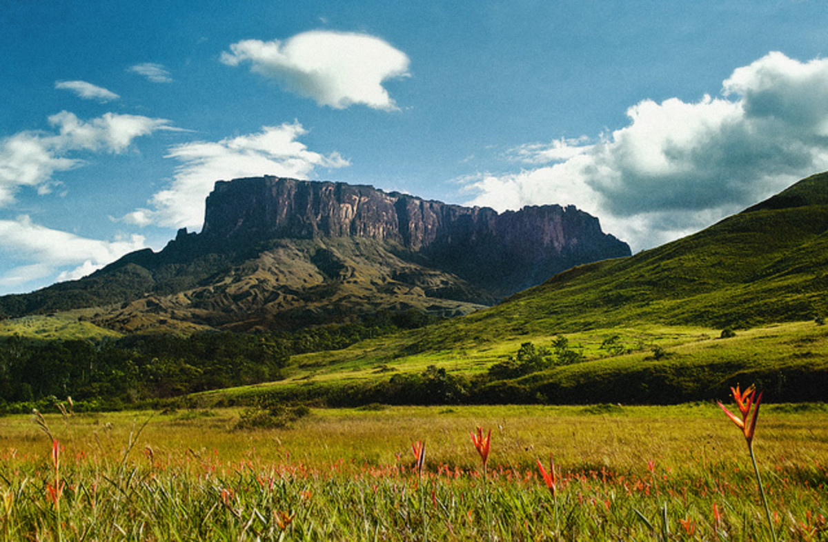 Tepui mountain in southeastern Venezuela