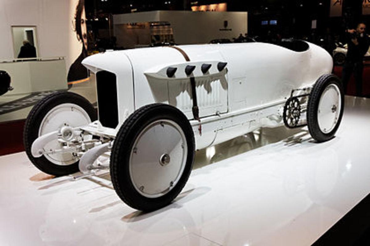Blitzen-Benz (Paris, Retromobile 2013)