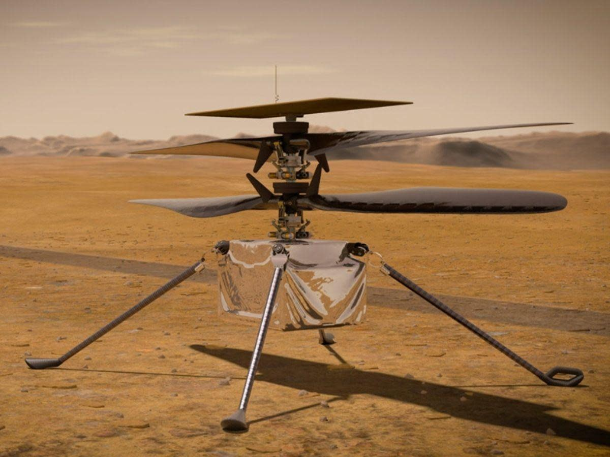 Helicopter on Mars : Ingenuity