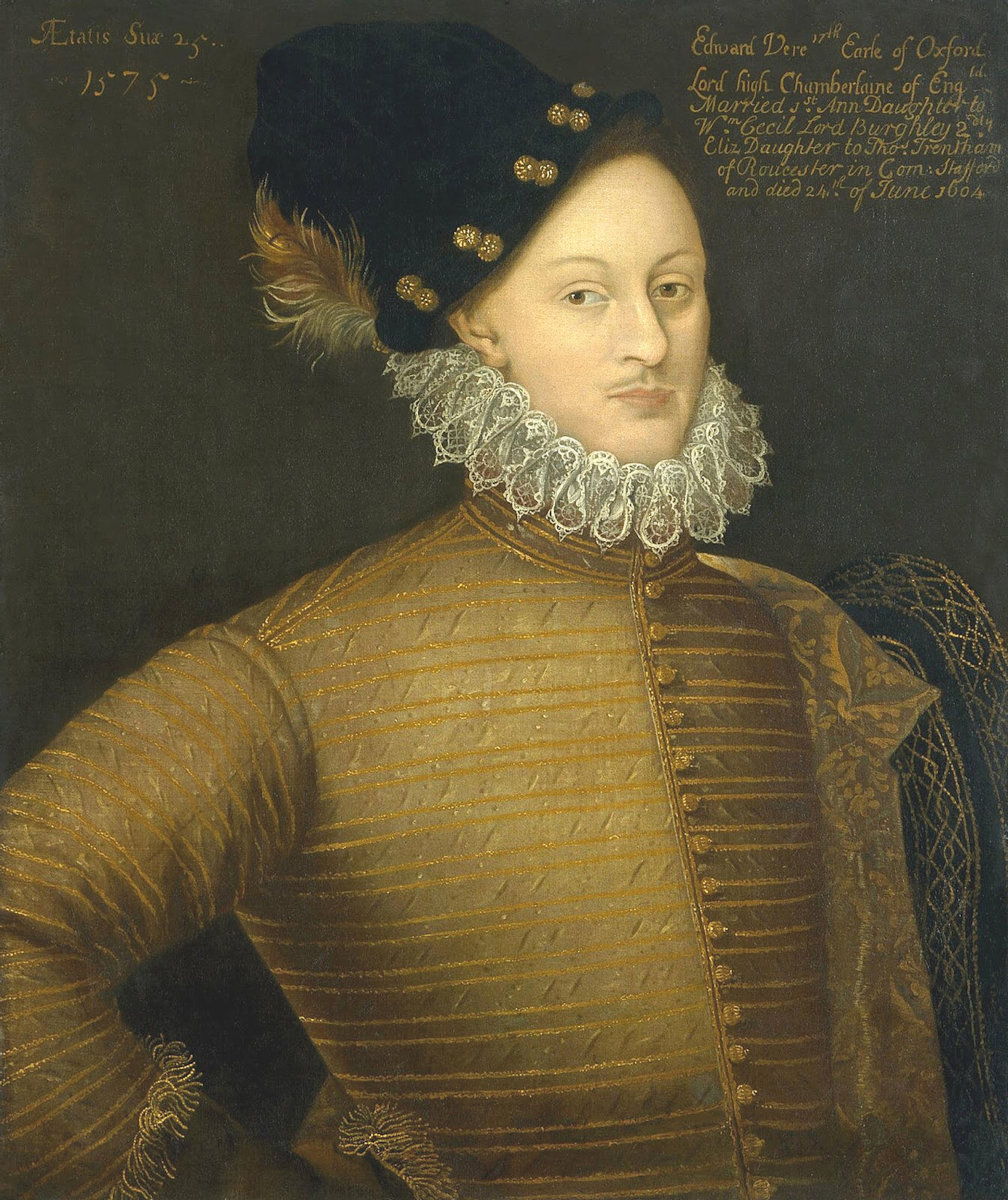 Edward de Vere, 17th Earl of Oxford - the Wellbeck portrait