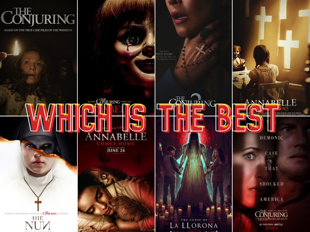 Which installment of 'The Conjuring' franchise is your favorite movie?