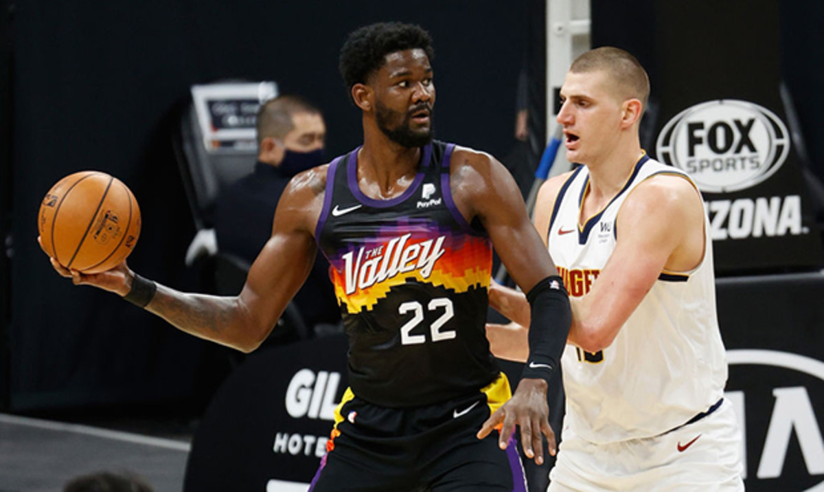 The second seeded Suns will battle the third seeded Nuggets.