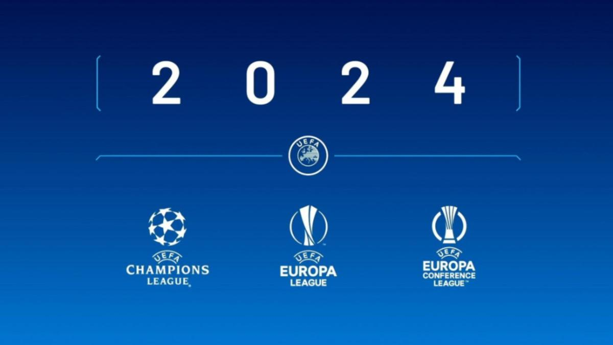 The 3 major competitions of UEFA