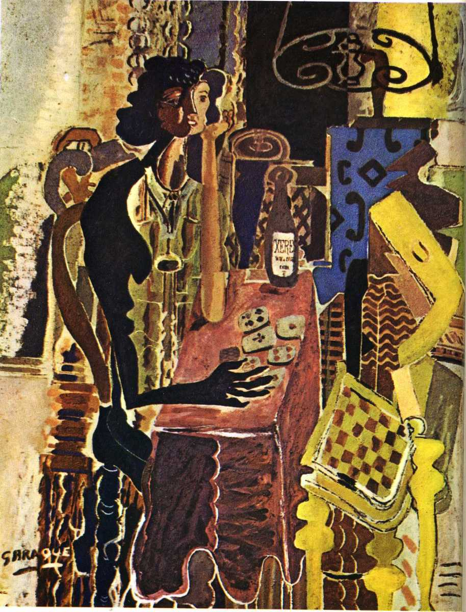 The Patience by Georges Braque