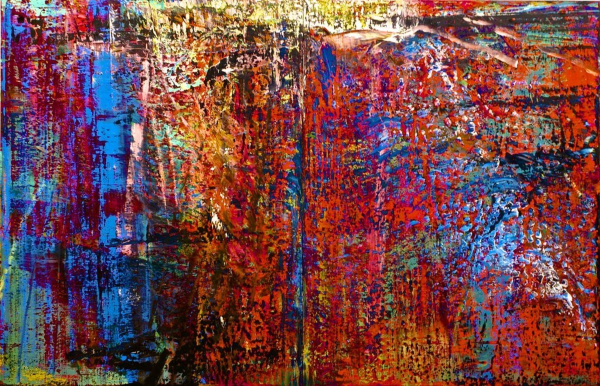 Abstrakes Bild No. 635 by Gerhard Richter