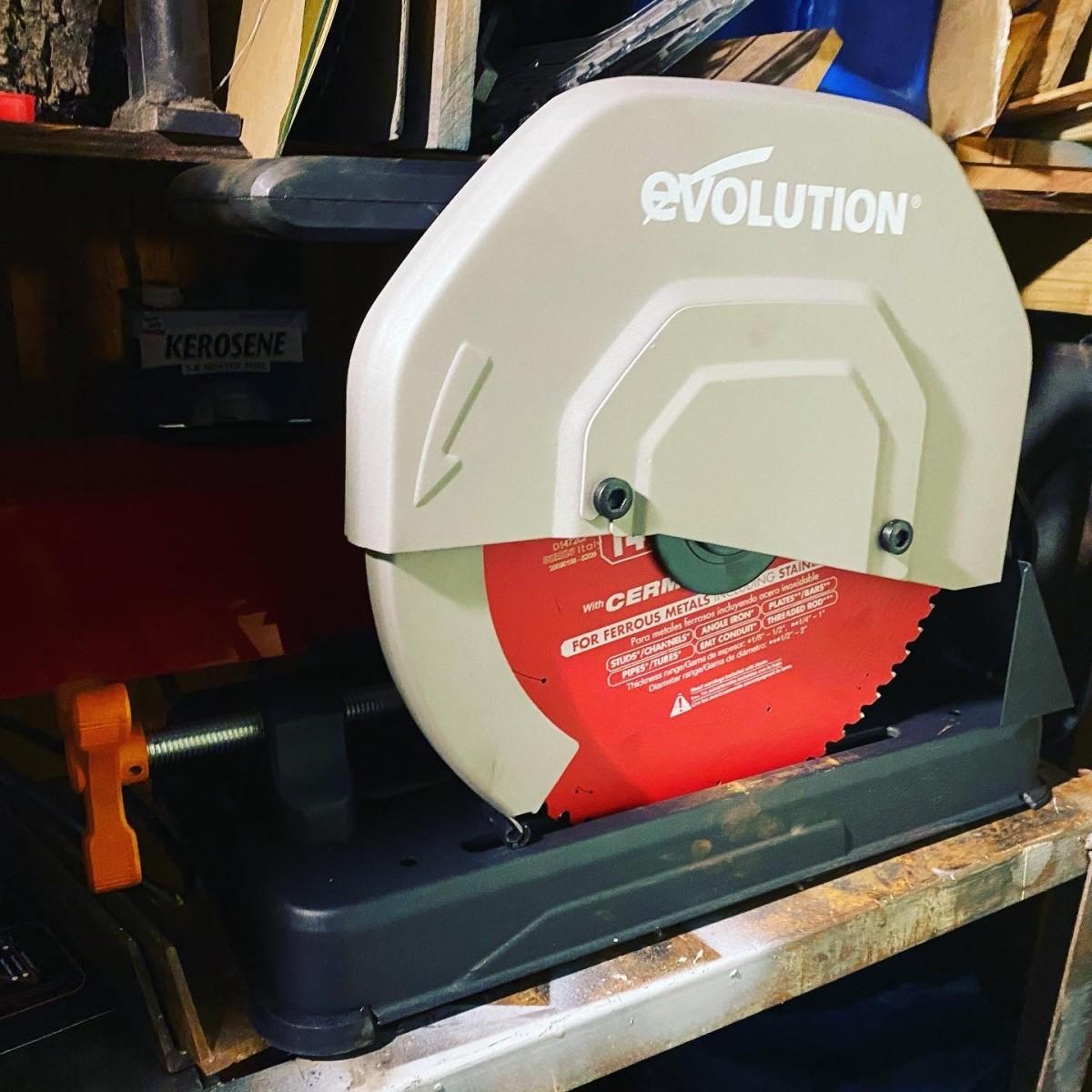 Evolution Cold Cut Saw With Diablo Steel Demon Blade