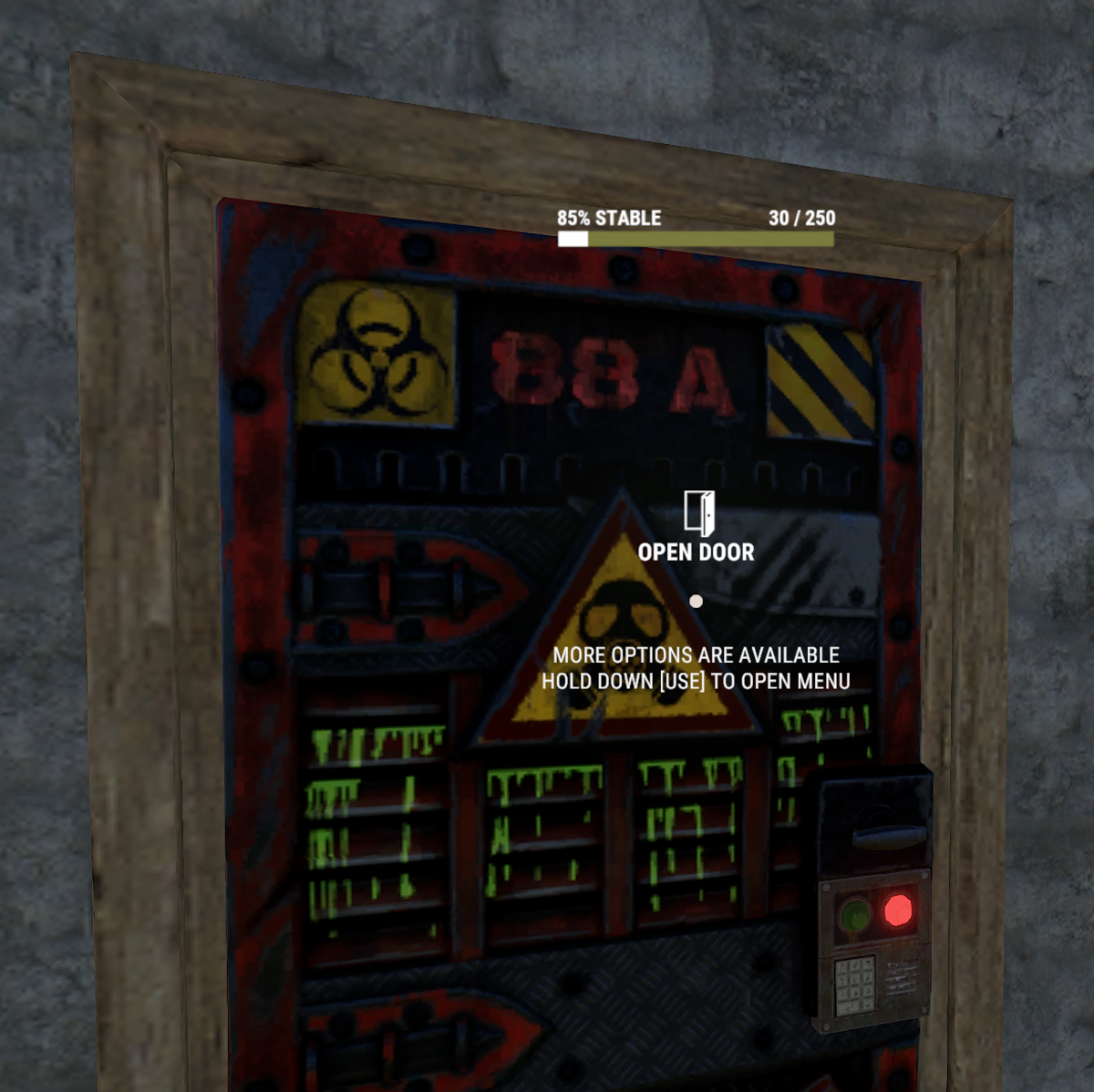 Just 8 Explosive Ammo is needed to finish, be careful taking only Rockets to a raid because Sheet Metal Doors will be very inefficient!