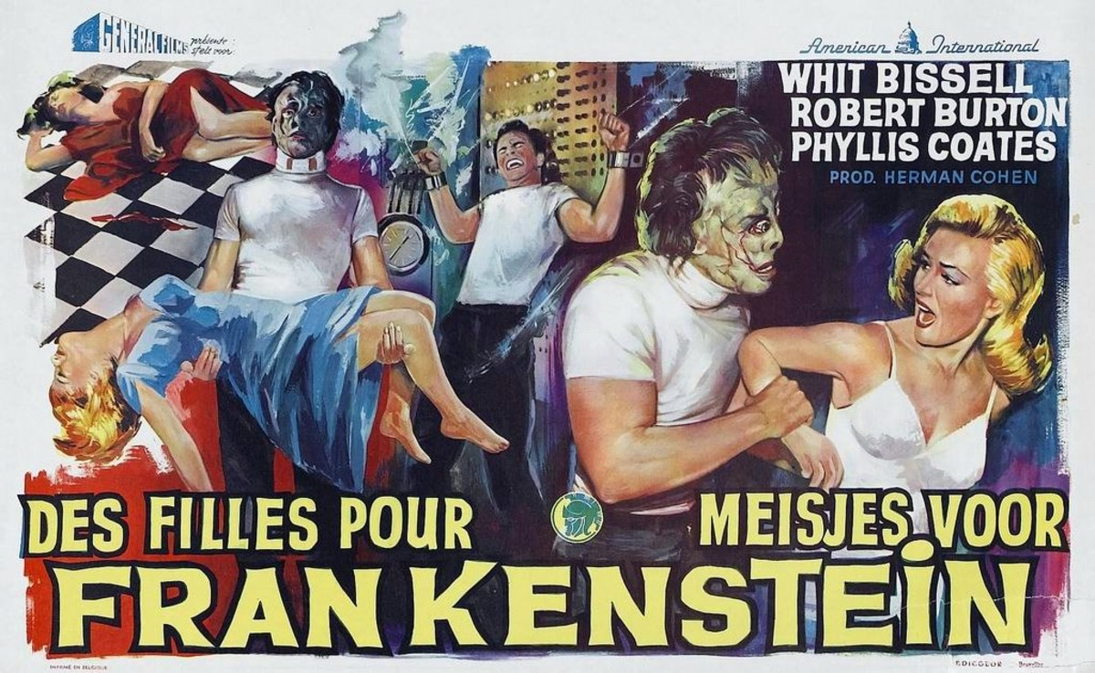 I Was a Teenage Frankenstein (1957)
