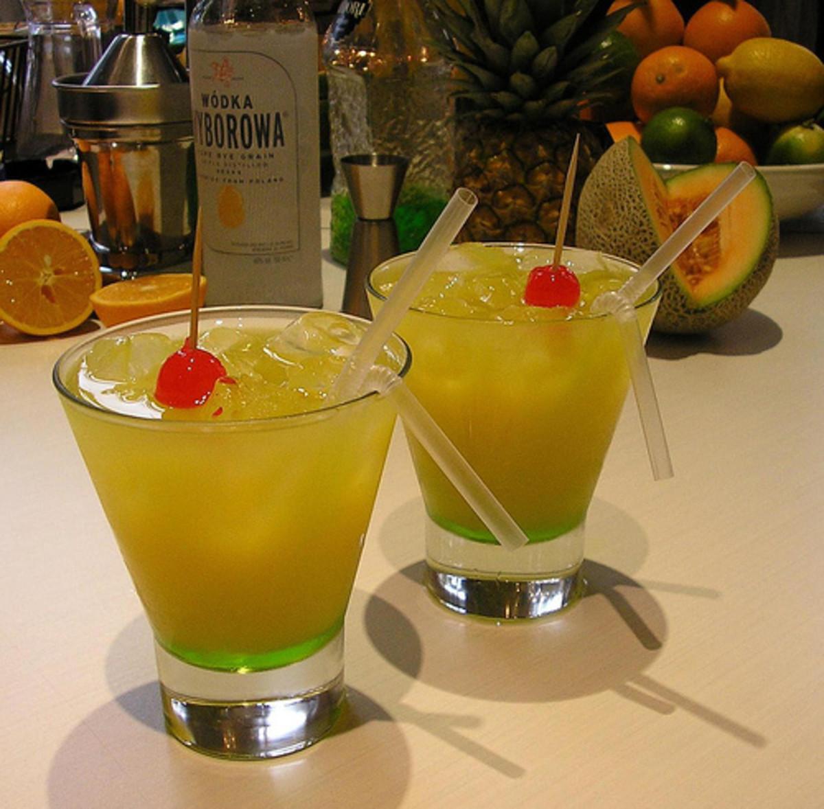 Melon Ball Cocktail Drinks photo: Drunken Monkey @flickr