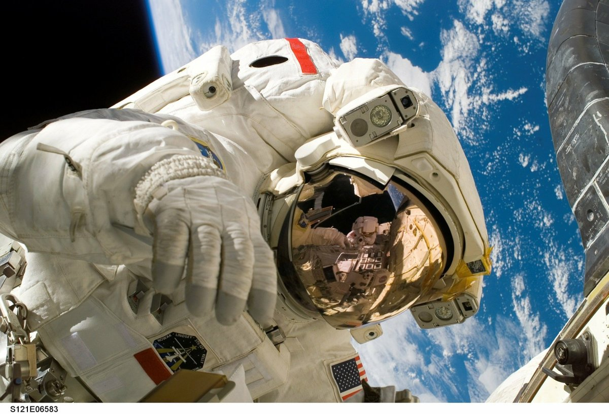 Micro gravity is the major concern for astronauts working in space station. it causes calcium loss in bones and loss of muscle mass.