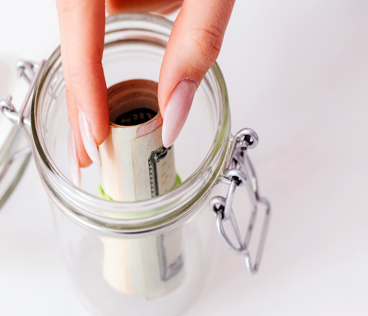 Saving is a good habit. Start small first better than having none