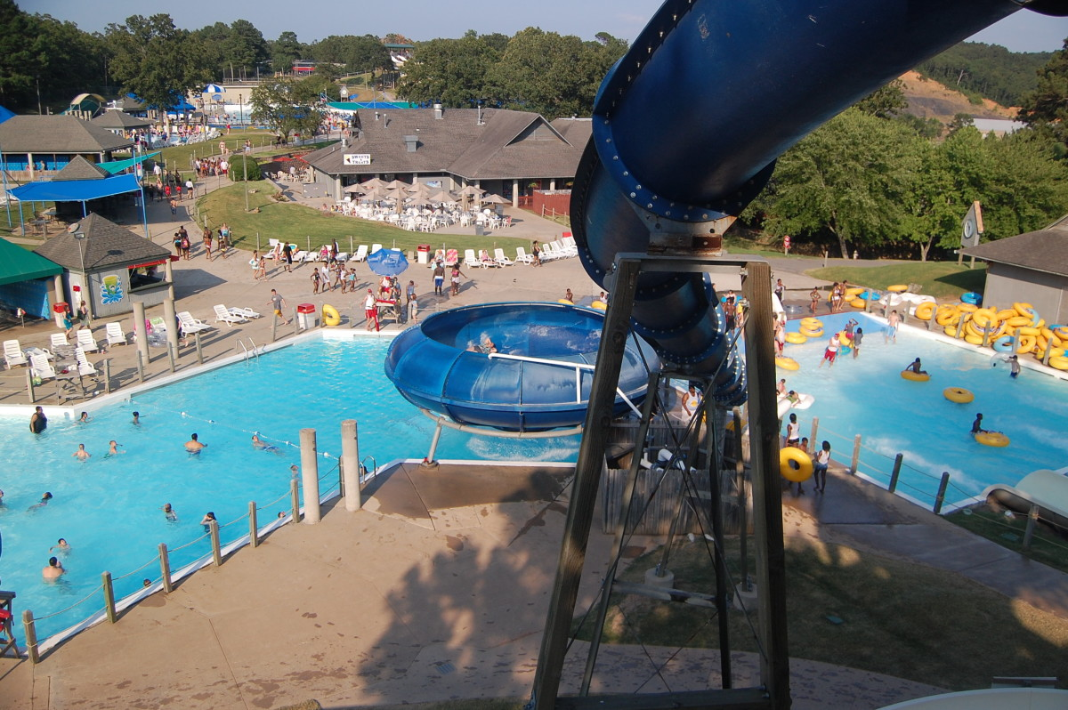 Wild river country -Largest water park in Arkansas