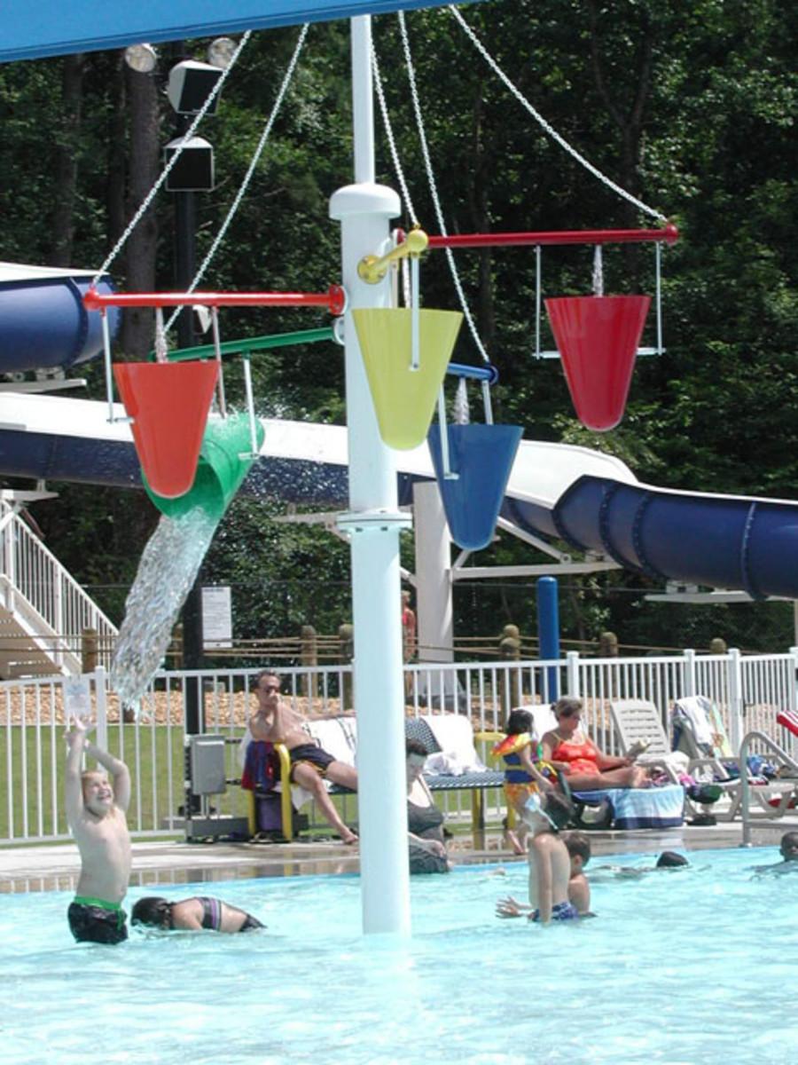 Arkadelphia aquatic park is a public water park in Arkansas.
