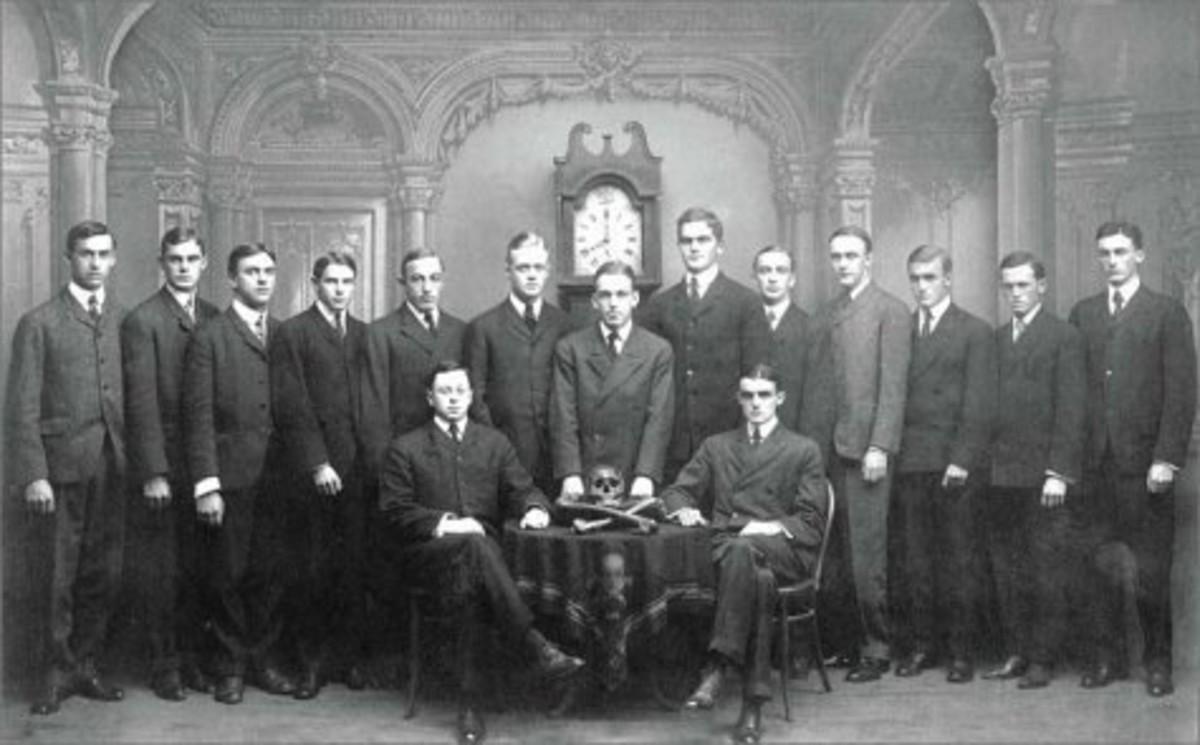 Prescott Bush - Class of 1916 Skull and Bones Society