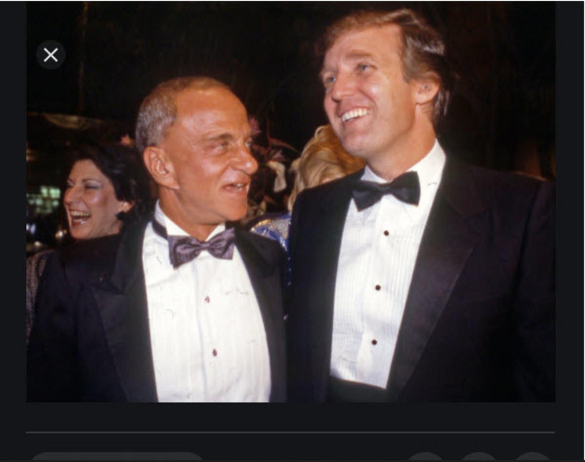 Roy Cohn and Donald Trump