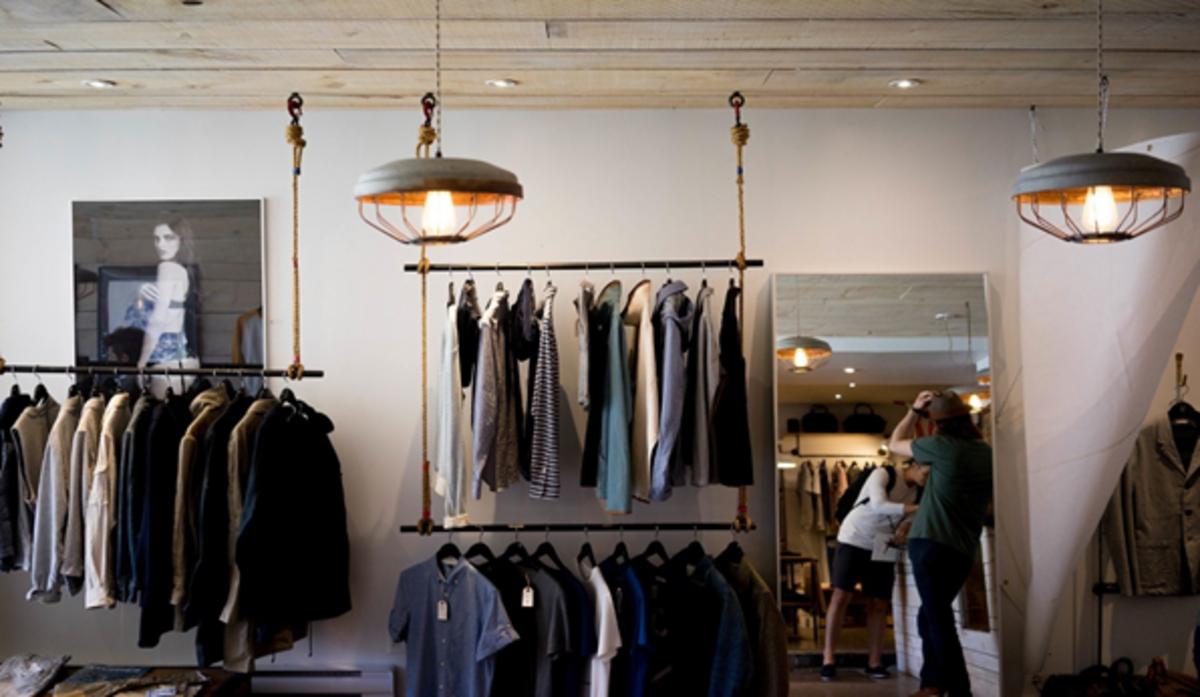 Women's clothes store