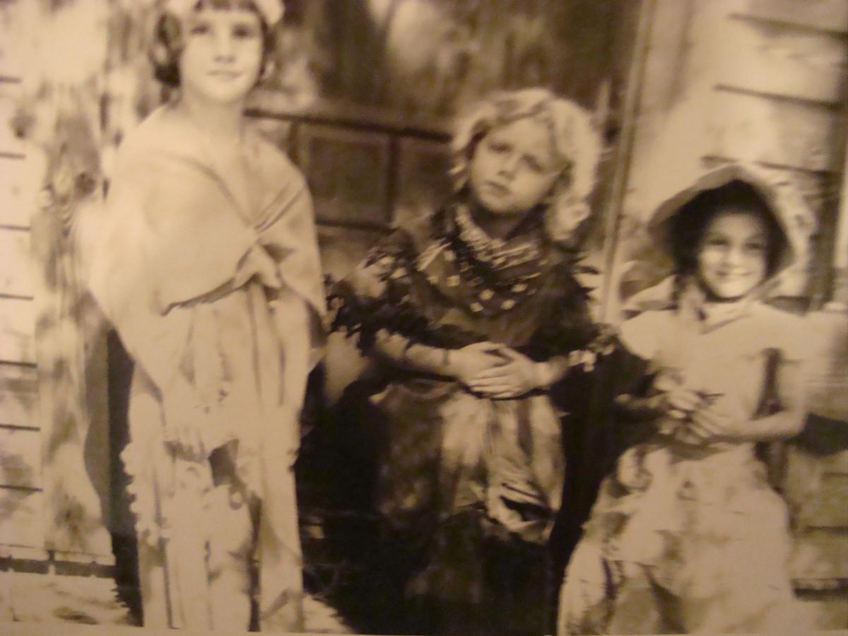 Best Childhood Friends--Judy, Bobbi and Edie