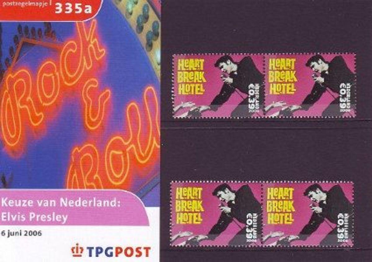 Dutch Elvis Postage Stamp