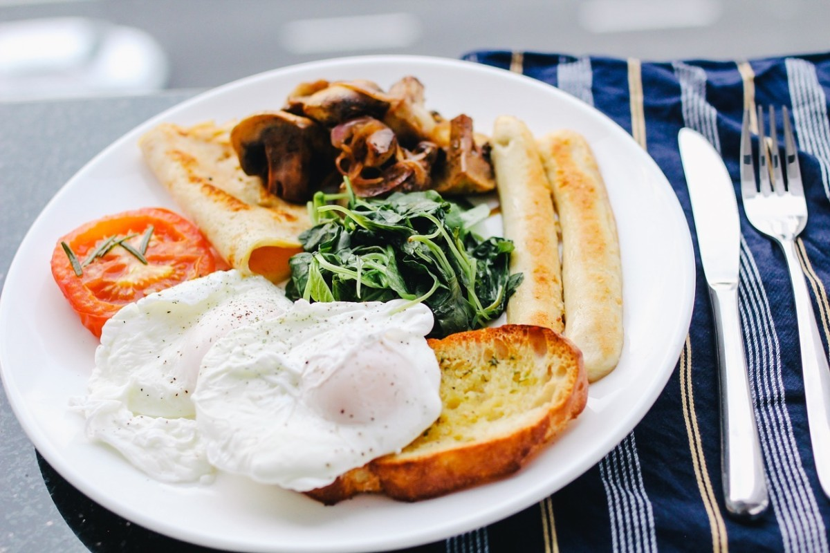 Hearty Breakfast: Image by Free-Photos from Pixabay
