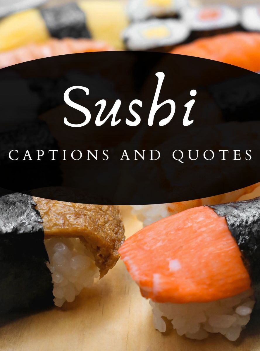 Sushi Quotes and Caption Ideas