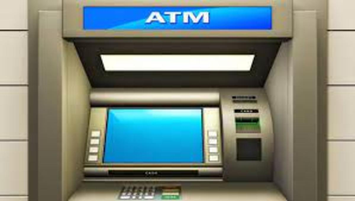 He went to an ATM to withdraw money for use