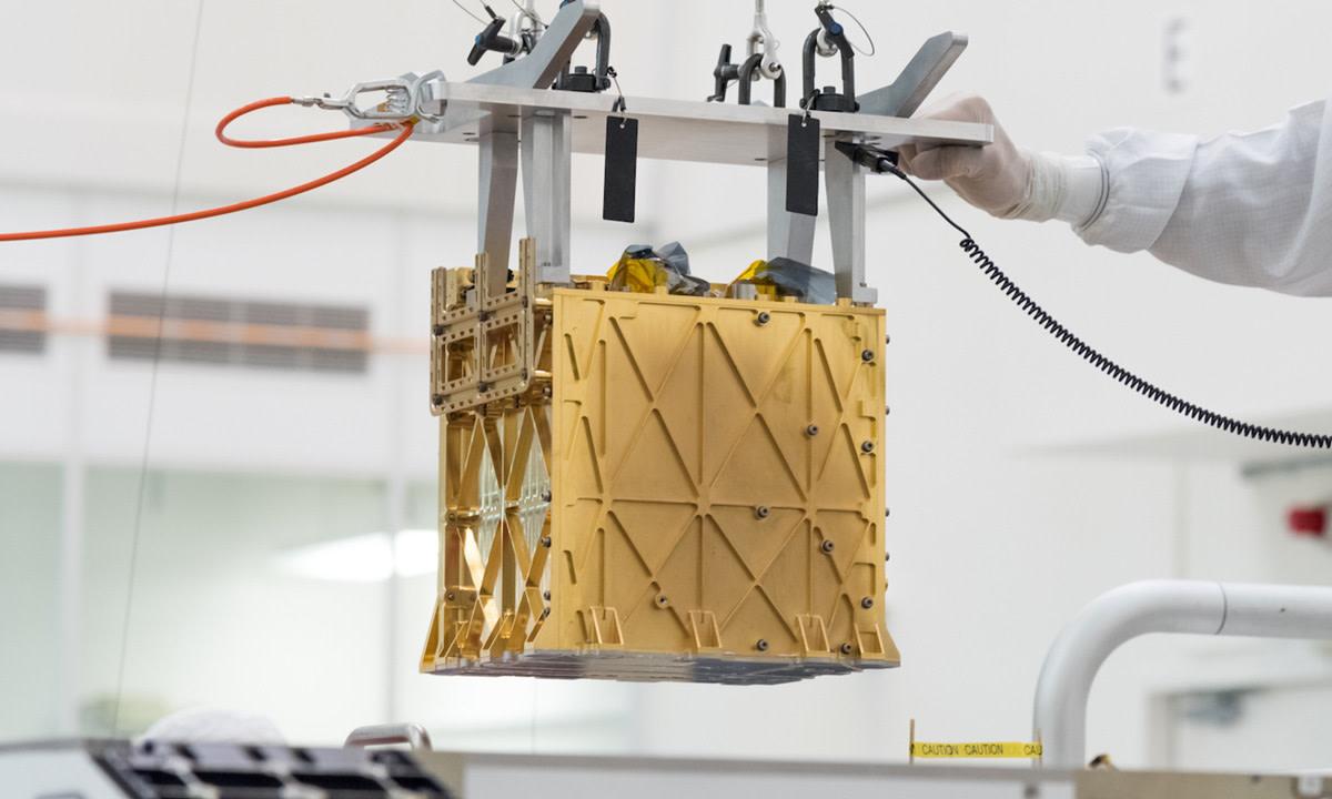 Image of Mars Oxygen In-Situ Resource Utilisation Experiment (MOXIE) in JPL