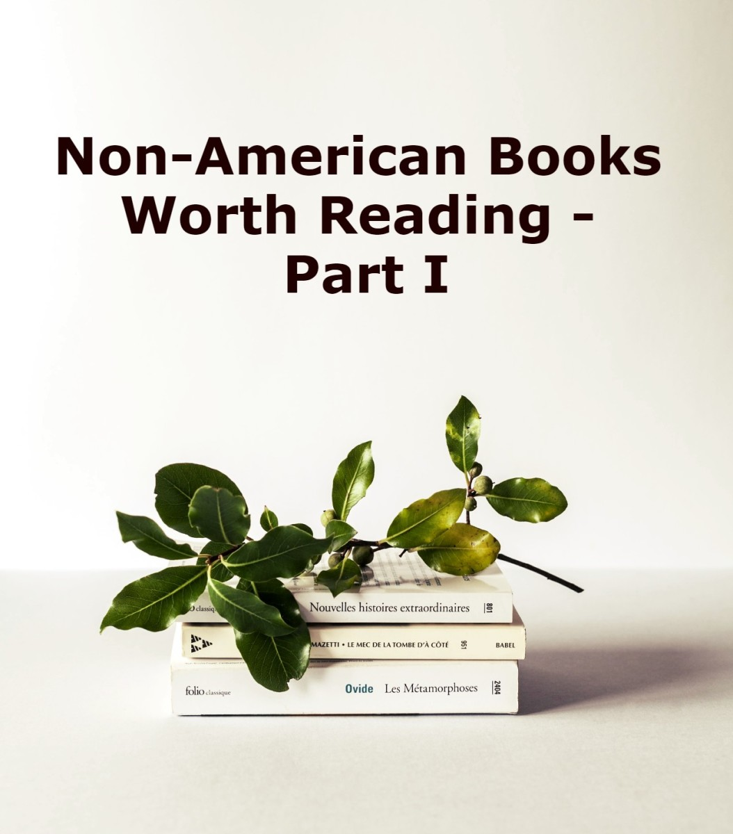 7 Non-American Books Worth Reading - Part I