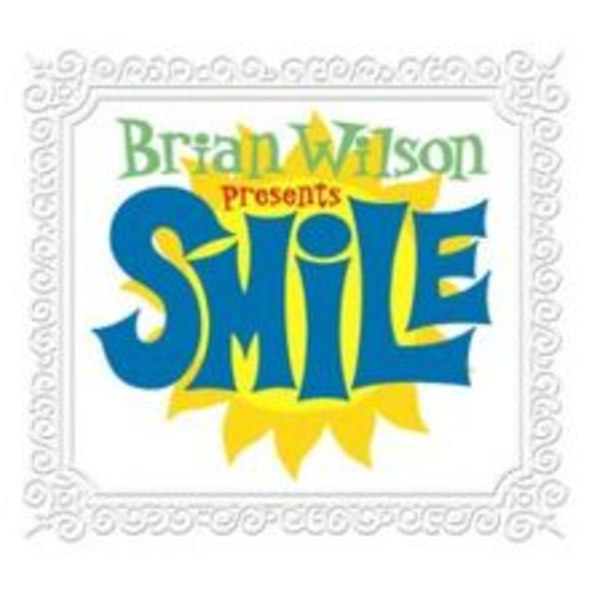 The album cover for Brian Wilson's finished masterpiece, SMILE.