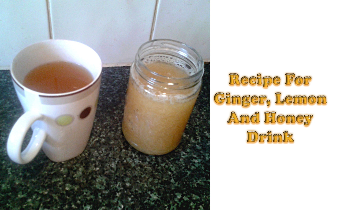Recipe for Ginger, Lemon and Honey: A Healthy and Nourishing Winter Drink