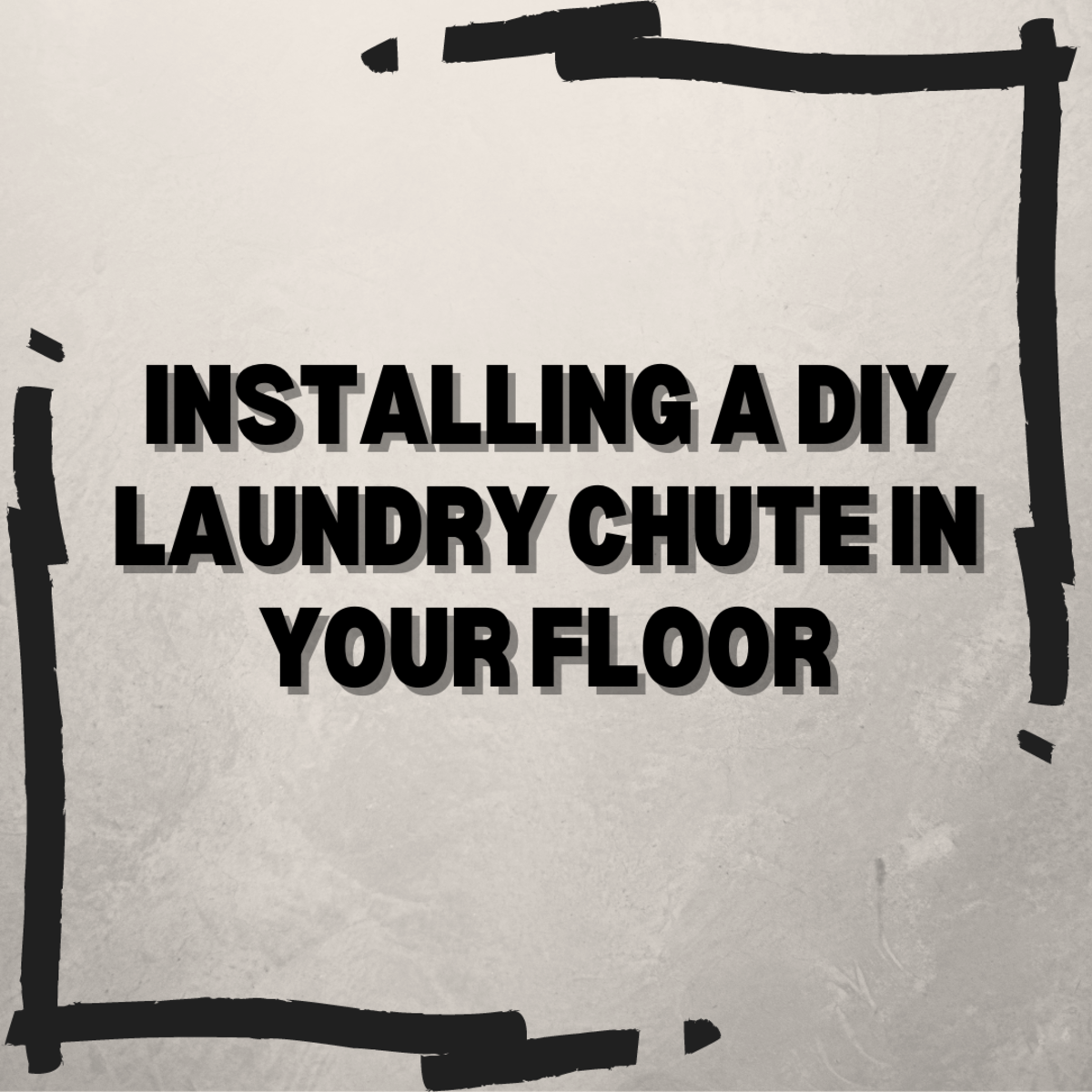 Learn how to install floor laundry chute in your home