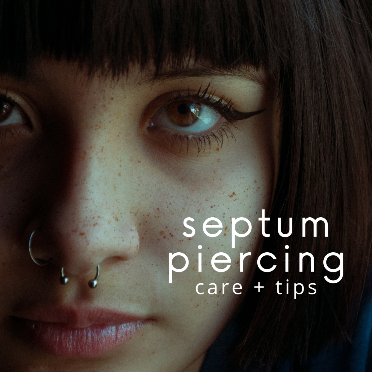 Septum Piercing Care and Healing Tips