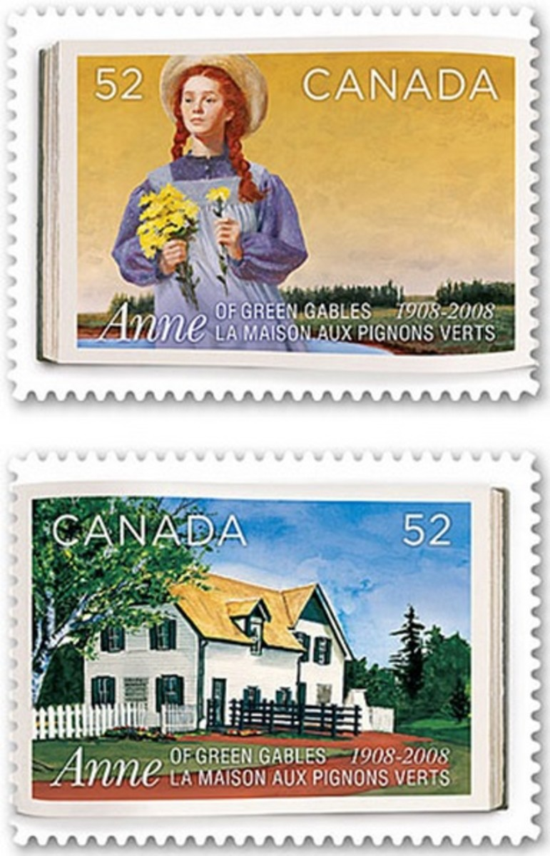 Anne of Green Gables Stamps
