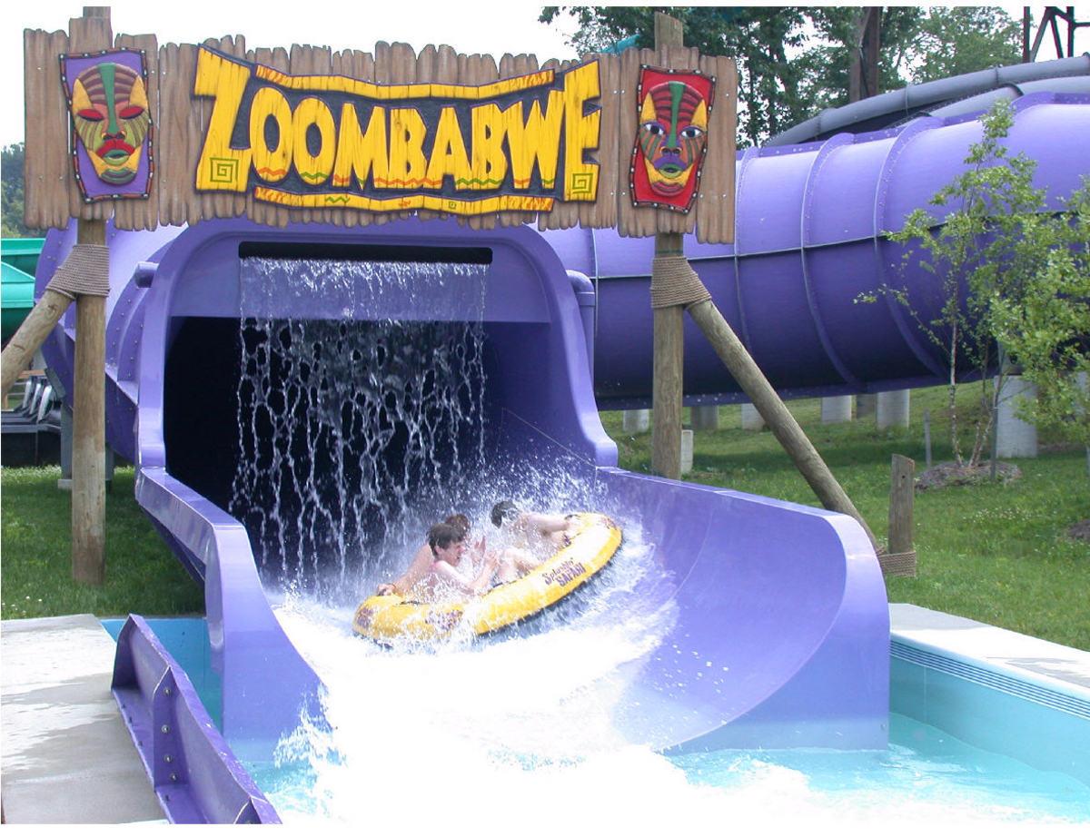 Splashin Safari water ride