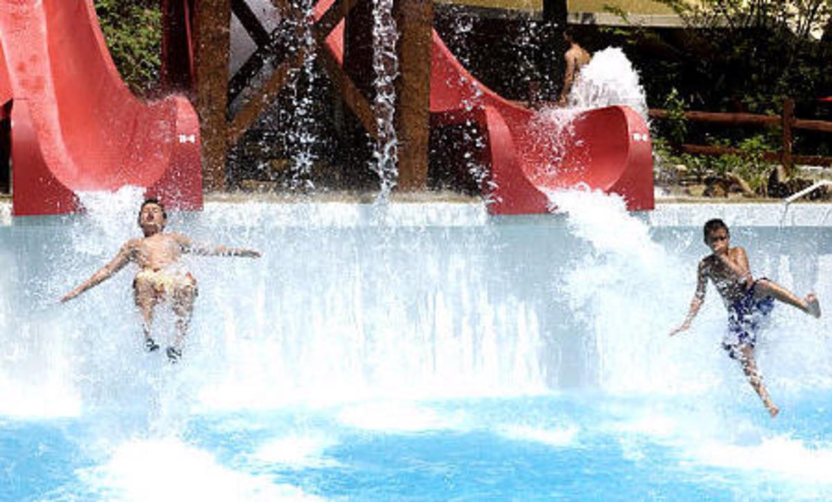 splish splash water ride